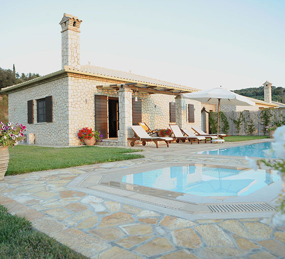 villa yerani villas for sale in corfu, corfu property company