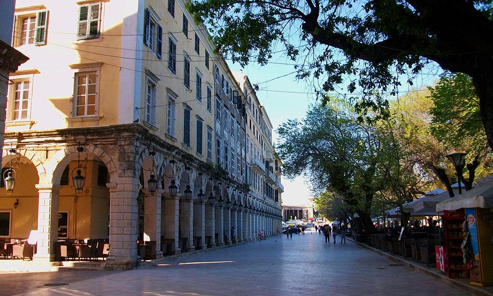 Spianada Liston Corfu - Corfu Property Company