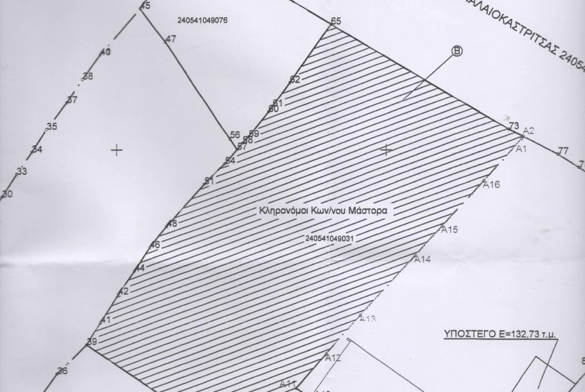 Property on Corfu Greece 2.372m2