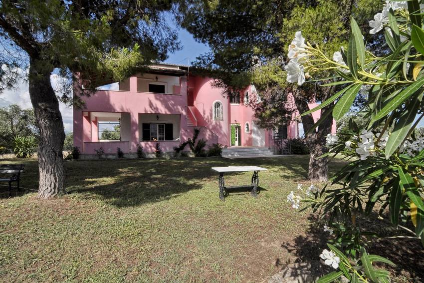 Mansion 660m2 Sourounted by 42 acres of land in Corfu Greece