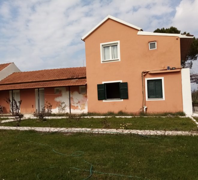 Two-storey installation of 167 sq.m. with 2150m land