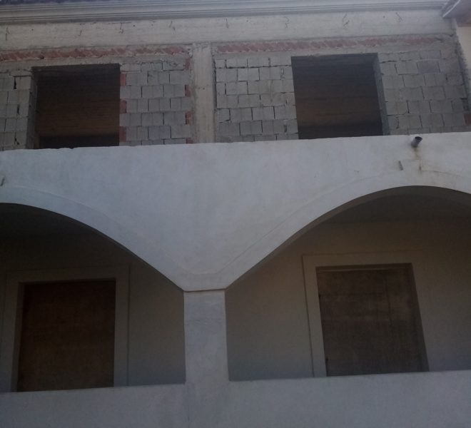 Unfinished flat 52m2 for sale, with sea view, in Acharavi