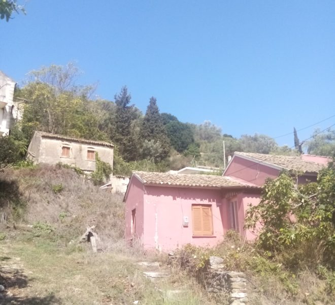 Two houses on a corner plot total area of 400m2 for sale in Kavvadades